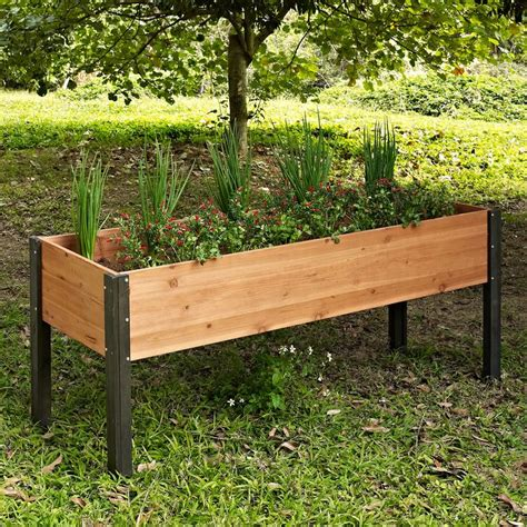 Raised Garden Planter Boxes by Best 10 Elevated Garden Beds Ideas On Raised