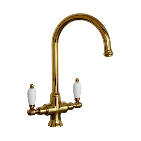 Traditional Taps Kitchen by Enki Traditional White Lever Kitchen Sink