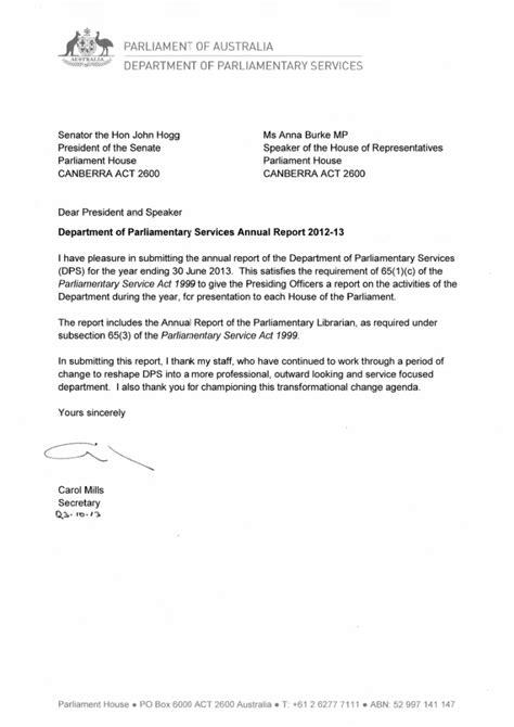 letter of transmittal comcare