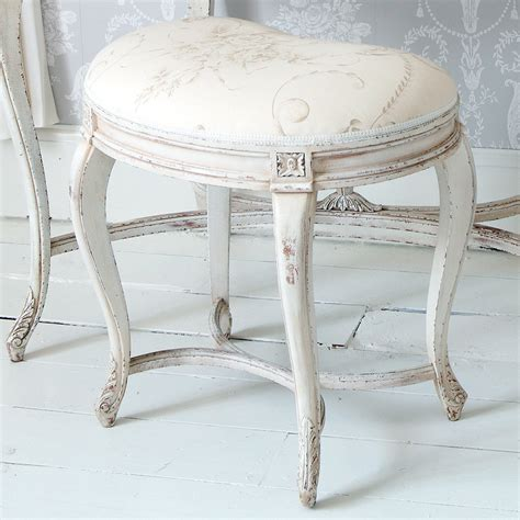 delphine painted white bedroom stool french bedroom company