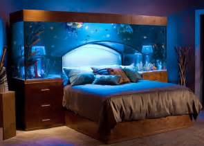 sleep with the fishes in custom made aquarium bed by