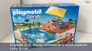 playmobil 5575 la piscine extension de la