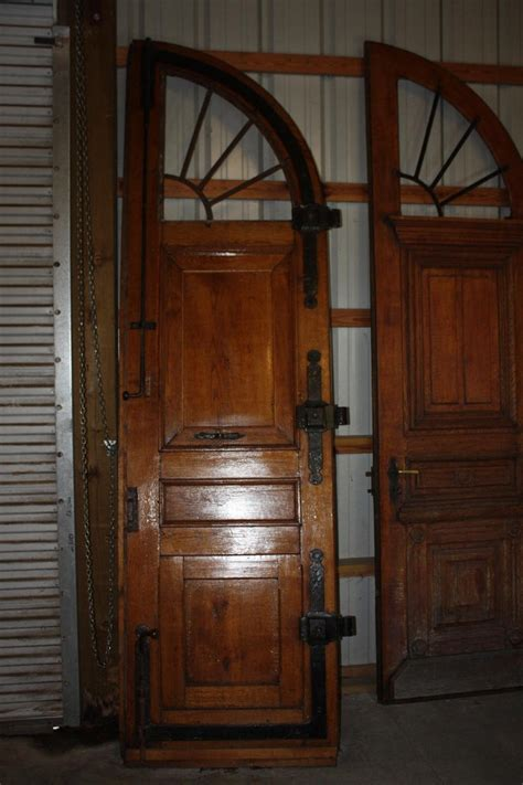 early  century pair  french exterior doors  sale