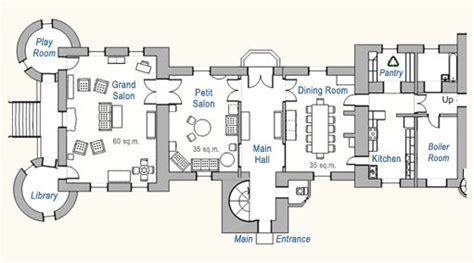 chateau du pin floor plans castles palaces