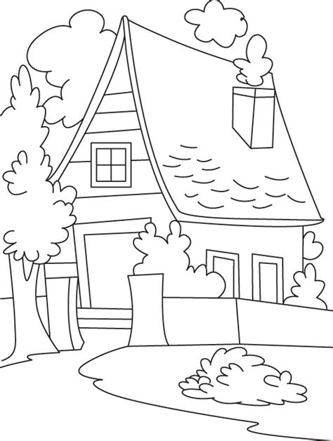 country house coloring pages coloring pages cottage coloring sheets free cottage