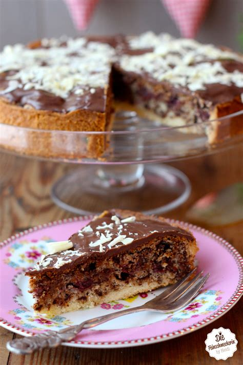 kirsch kuchen schokoladen kirschkuchen die feinschmeckerin