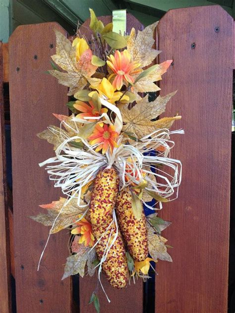 indian corn decorations for fall best 25 indian corn wreath ideas on