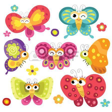 clipart farfalle butterfly clip farfalle carino e colorato stickers