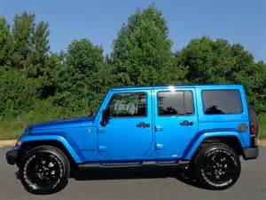 2014 jeep wrangler unlimited hydro blue pearl in