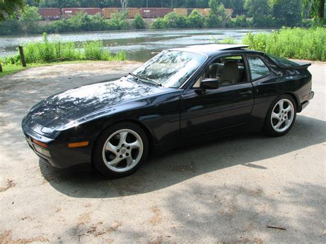 porsche 944 black black porsche 944 turbo things that go vroom pinterest