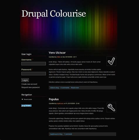 drupal themes hosting free 22 of the best free drupal themes evohosting
