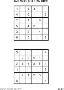 Easy sudoku printable free easy printable sudoku