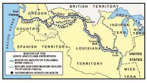 Lewis And Clark Route Map by This Day In History 5 Sivan May 14 Hamodia
