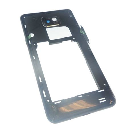 For Samsung Galaxy S2 I9100 black samsung galaxy s2 i9100 rear chassis