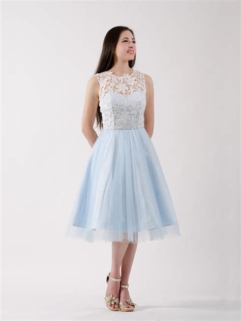 Lace Bridesmaid Dress by Lace Bridesmaid Dress Blue