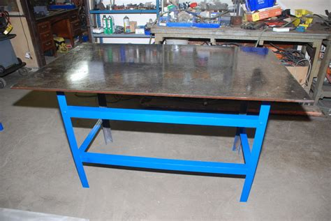 Welding Table For Sale by Beautiful Welding Table 60 Quot X36 Quot 35 Quot High 1 2 Thick