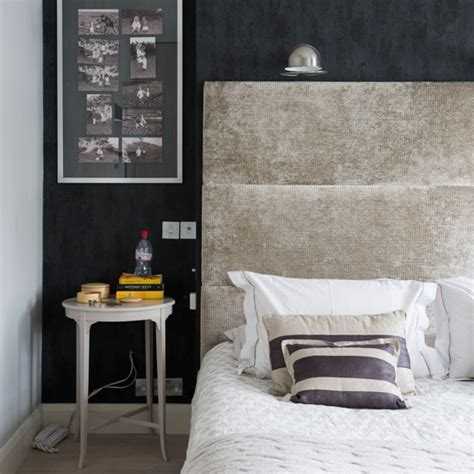Black And Grey Bedroom Decorating Ideas by Black And Grey Textured Bedroom Bedroom Decorating Ideas Housetohome Co Uk