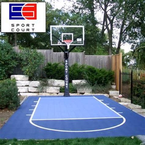 Backyard Basketball Court Ideas 25 Best Ideas About Backyard Basketball Court On Pinterest Outdoor Basketball Court