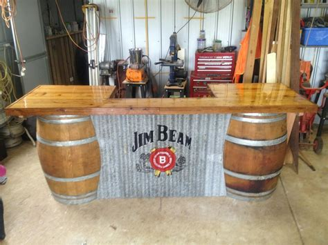 Metal Kitchen Island Tables barrel bar s man cave pinterest barrels bar and men