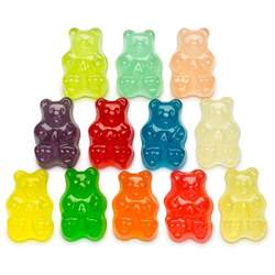12 flavor gummi bears world s best gummies gourment candy albanese candy