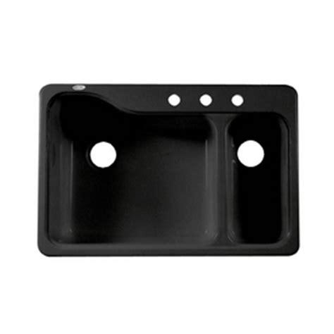 shop american standard black 3 basin porcelain
