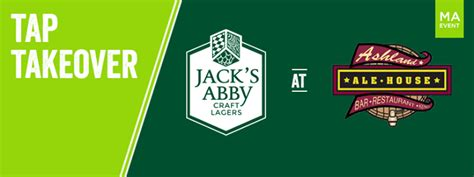 ashland ale house tap takeover at ashland ale house jack s abby