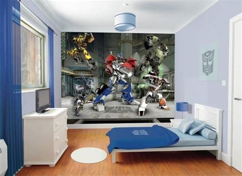 sikawa home business design tapeta 3d walltastic transformers dla dzieci multicotton
