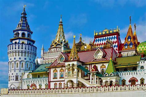 moscow russia architecture the izmailovo kremlin city