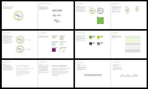 Design Manual Vorlagen By The Book Create A Style Guide For Your Brand Eliseo Skillshare