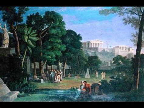 Gardens Of The Ancients by Quot The Garden Of Epicurus Quot The Tortoise Shell Lyre Of