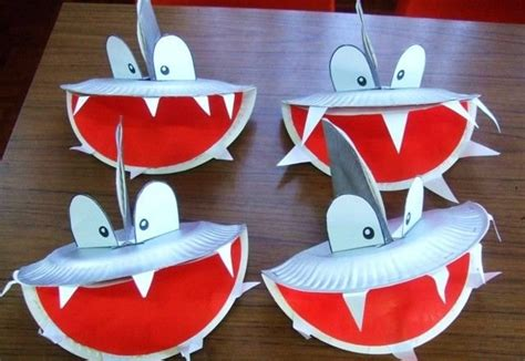 shark crafts for crafts actvities and worksheets for preschool toddler and