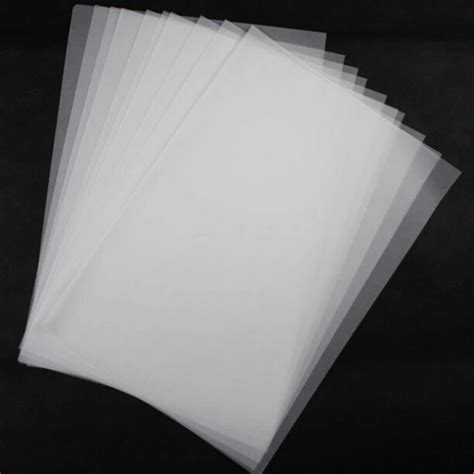 How To Make Tracing Paper At Home - 20 pcs high quality a2 tracing paper butter paper sulfuric