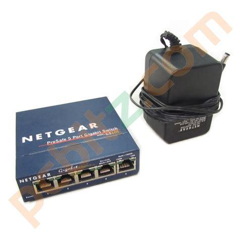 netgear prosafe 5 gigabit switch gs105 netgear gs105 v2 prosafe 5 gigabit switch with