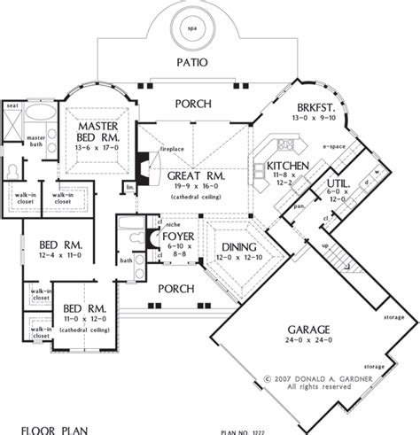 donald a gardner floor plans the sorvino house plan images see photos of don gardner