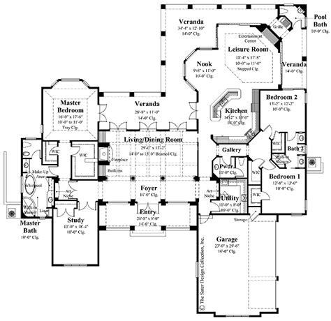 country kitchen floor plans wonderful country kitchen hwbdo12999 chateauesque