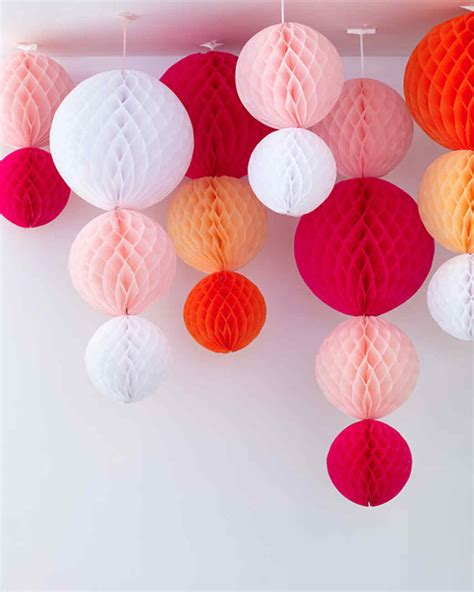 Make Tissue Paper Decorations - our best baby shower decorations martha stewart