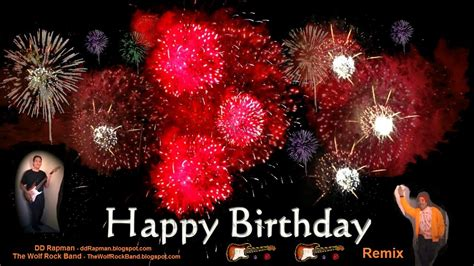 free download mp3 happy birthday remix happy birthday song remix rap rock hip hop fireworks card