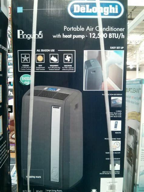 costco room air conditioner delonghi portable air conditioner