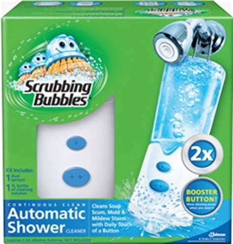 automatic bathtub cleaner scrubbing bubbles 174 sc johnson