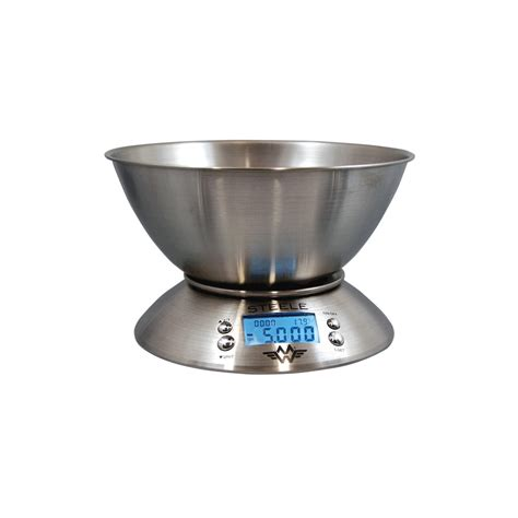 digital counting scale stainless steel w wash capability from intelligent weighing my weigh stainless steel 5kg x 1g kitchen scale with bowl
