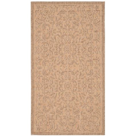 safavieh cy6126 39 courtyard indoor outdoor area rug gold lowe s canada safavieh courtyard gold 2 ft 7 in x 5 ft indoor outdoor area rug cy6634 39 3 the