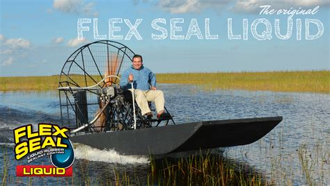 flex seal on boat celebrating flex seal liquid s milestone official site