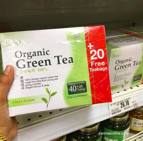 Teh Hijau Ahmad khasiat teh hijau organic green tea yang tak pahit dan