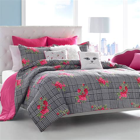 punk comforter betsey johnson polished punk comforter set from