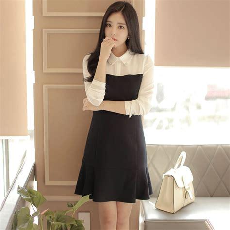 Dress Black From Korea Aliexpress Buy Dress 2016 Korean Vintage