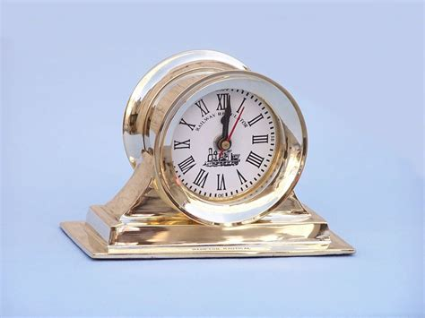 Nautical Desk Clocks by Buy Table Top Clock 7 Inch Nautical Accessories
