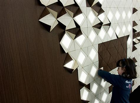 Light Pattern On Wall | light form is a modular lighting system evolo