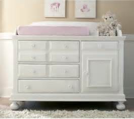 White Dresser And Changing Table Creations Baby Summers Evening Combo Dresser Rubbed White Traditional Changing Tables By