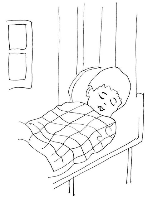 sleep coloring coloring pages