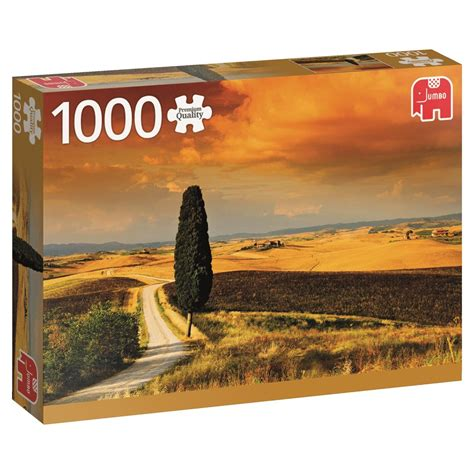 Jigsaw Puzzle Sunset On Llight 1000 puzzle sunset in tuscany jumbo 18362 1000 pieces jigsaw puzzles countryside jigsaw puzzle
